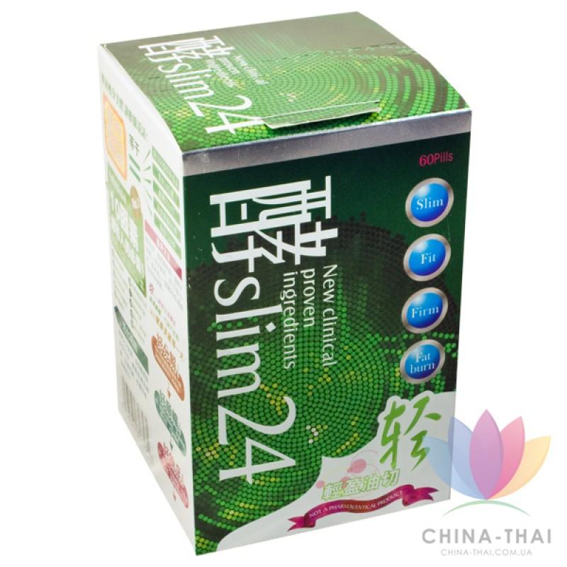 Slim 24 ASANA - капсулы для похудения (60 капсул)