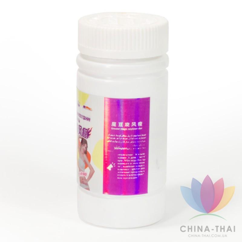 Волшебные бобы - Циклональное похудение 60 капсул (в банке)