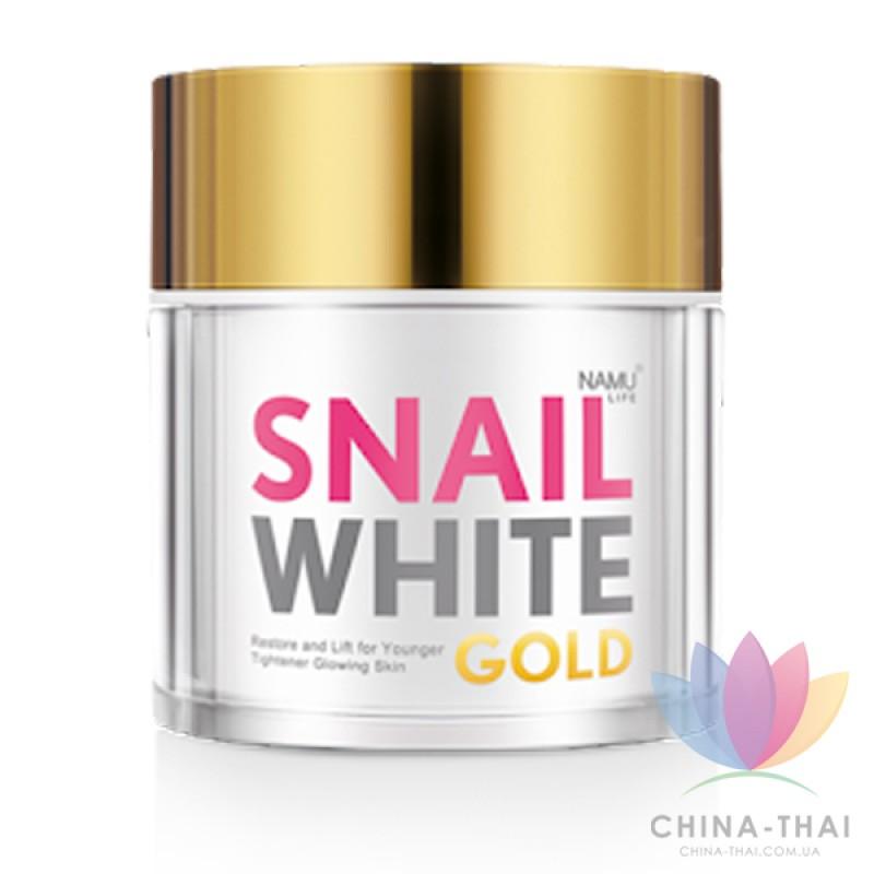 Крем для лица Snail White Gold Cream Q10 Collagen